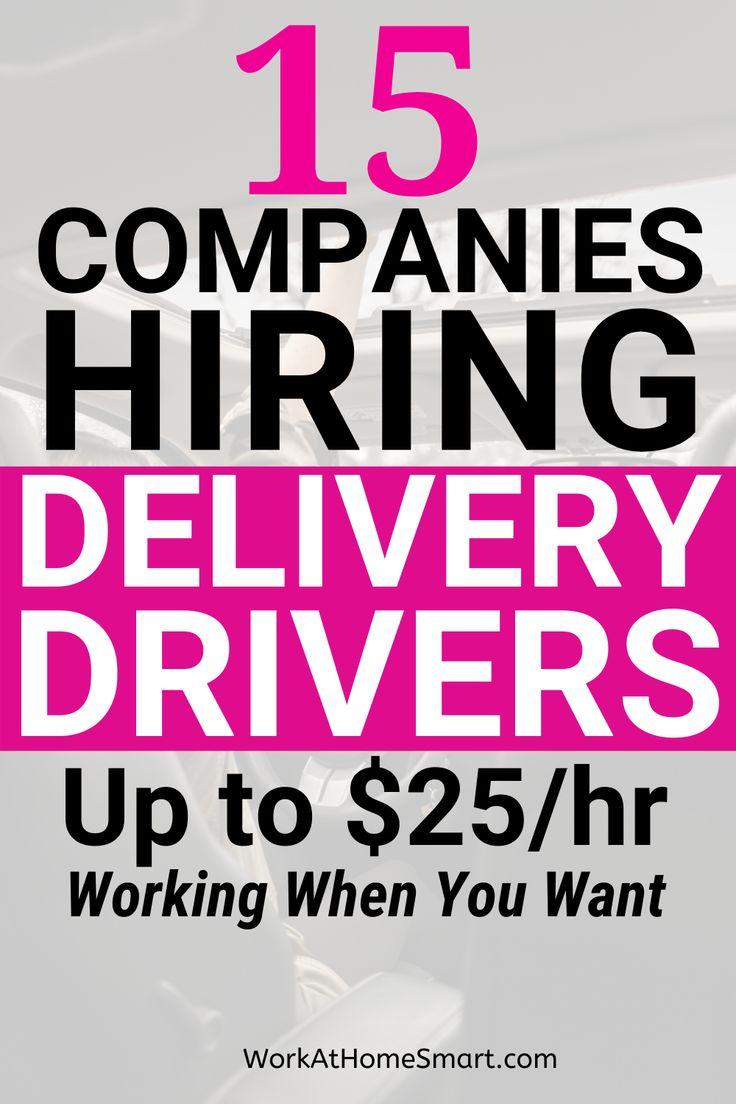 15 Best Delivery App Jobs Hiring In 2020 in 2020 Jobs