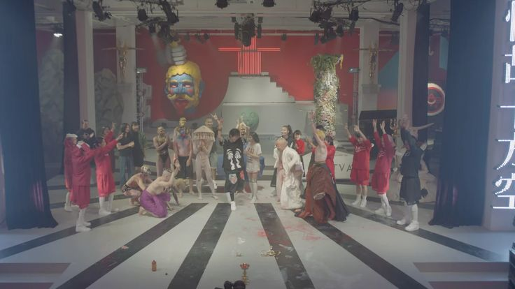 """ISHVARA"", Directed by Tianzhuo Chen, feature House of Drama,Kirikoo Des, Ndoho Ange, Beio, China Yu, Jojo. Music by Aisha Devi, Nodey, Li JianHong+Wei…"