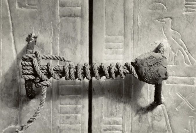 Unbroken seal on king tuts tomb. Rare Historical Photos with descriptions - Imgur