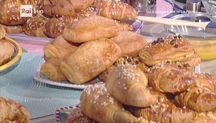 La prova del cuoco: cornetti, fagottini e girelle Sal De Riso - LaNostraTv
