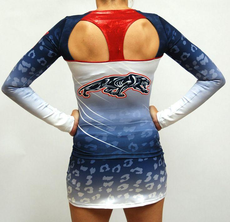 Dye sublimated uniform (back view)