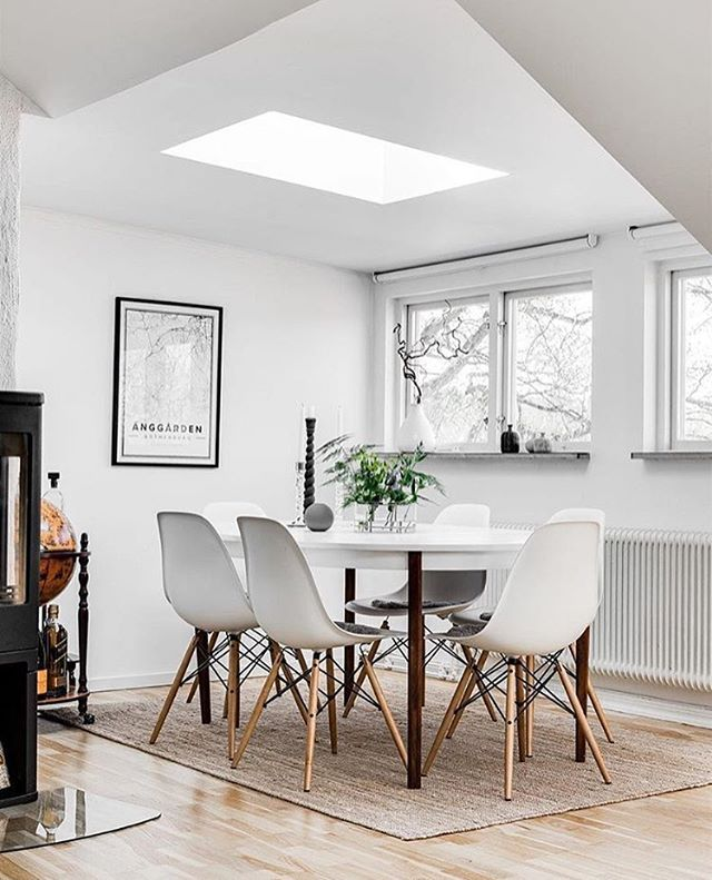 Love this gorgeous dining space! Beautifully styled by @josefint_inredning for @storangsgatan . Cooee vase available online at @byistome