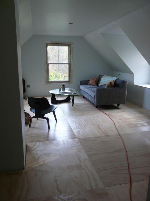 plywood flooring for loft