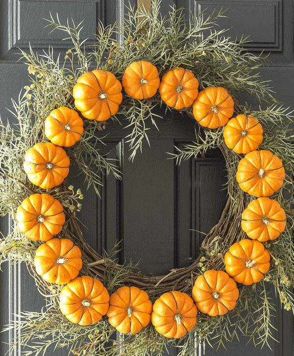 Simple & Creative DIY Thanksgiving Decorations