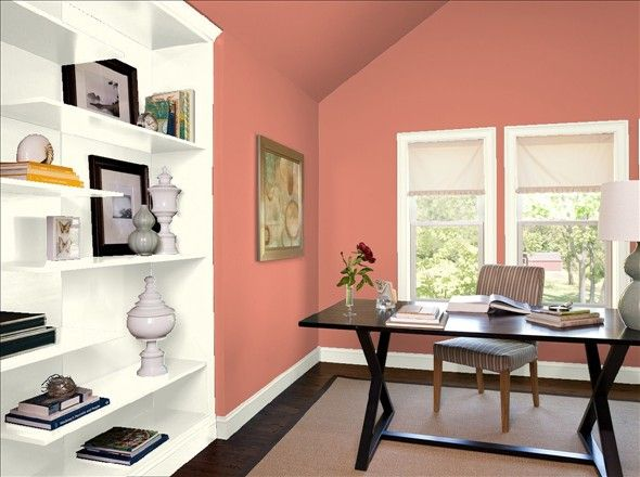 Tropical Fruit paint color from Benjamin Moore