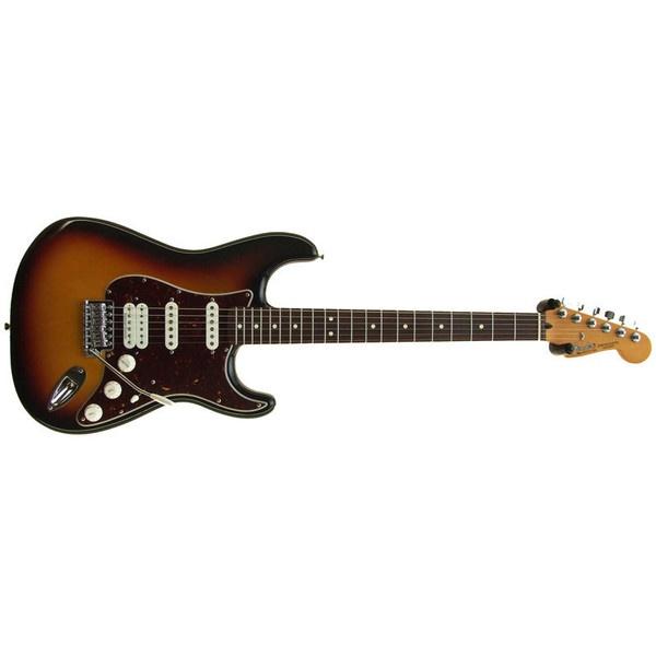 "My Baby ""La Morena"": Fender:Mexican Stratocaster Deluxe Lonestar, Brown Sunburst / Rosewood GREAT INSTRUMENT!"