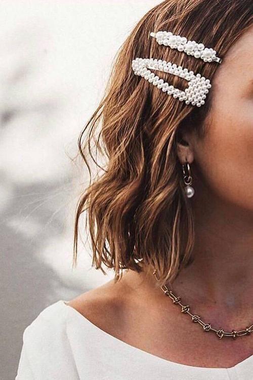 $5.66 Pearl Hair Clip