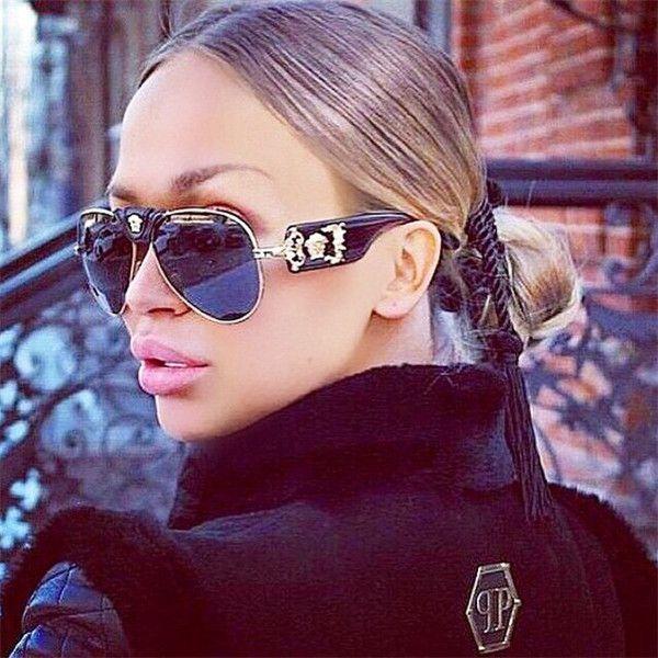 Hot New 2017 Top Quality Women Sunglasses Leather Buckle Sunglasses Fashion Oculos De Sol Feminino Steampunk Retro Sun glasses
