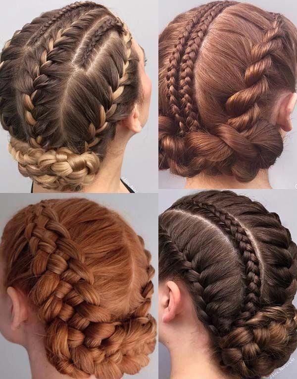 Here you may see our latest trends of tight braided bun hairstyles to create in year 2019. This is one of the unique ways for ladies who wanna wear be...