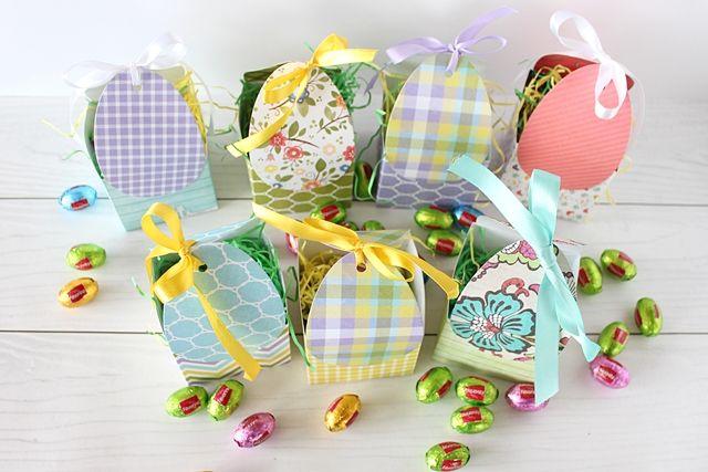 Easter boxes; DIY; Jak zrobić pudełko na wielkanocne słodycze?