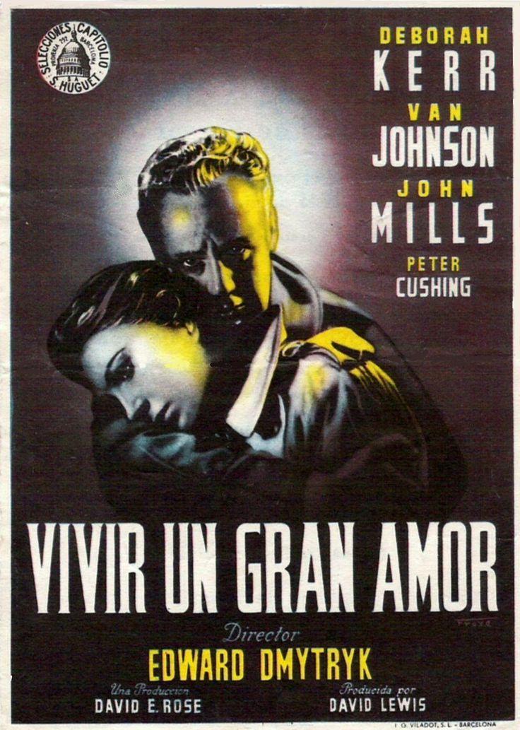 """Vivir un gran amor (1955) """"The End of the Affair"""" de Edward Dmytryk - tt0048034"""