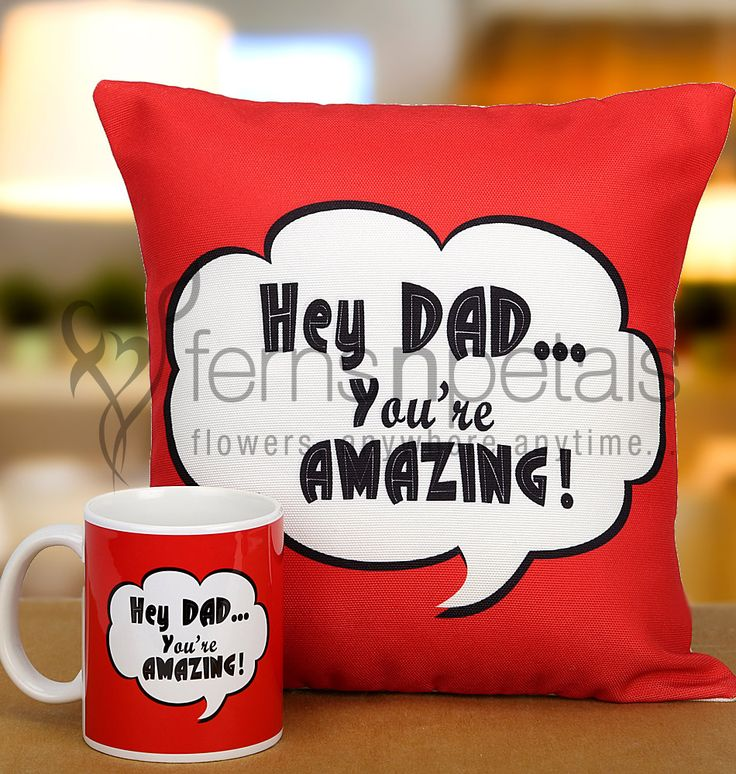 This #Father's #Day, let your inner most feelings take charge and let your #dad know that he is #amazing.