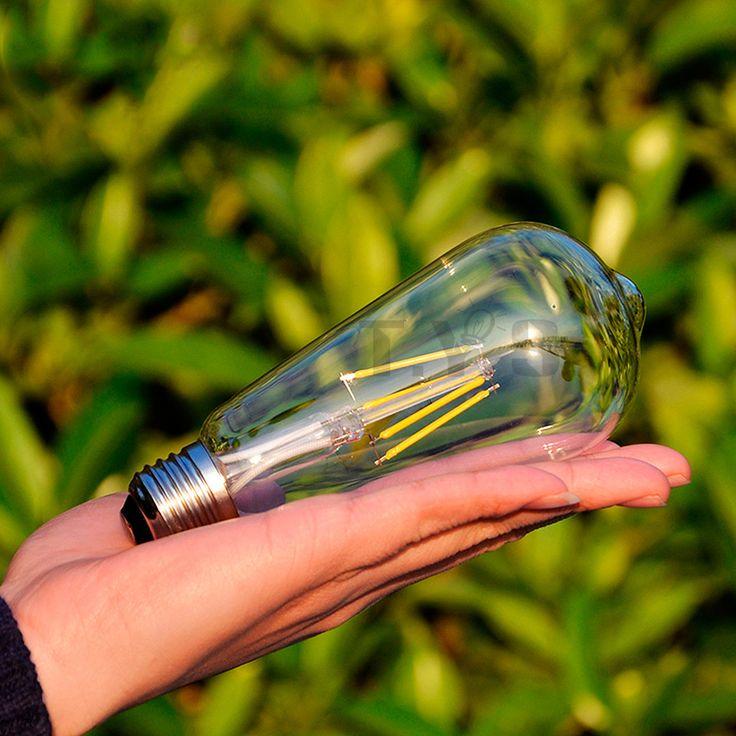 Perfect Real watt Vintage LED Edison ampoule E E LED Filament de lumi re mill sime ampoule LED lampe