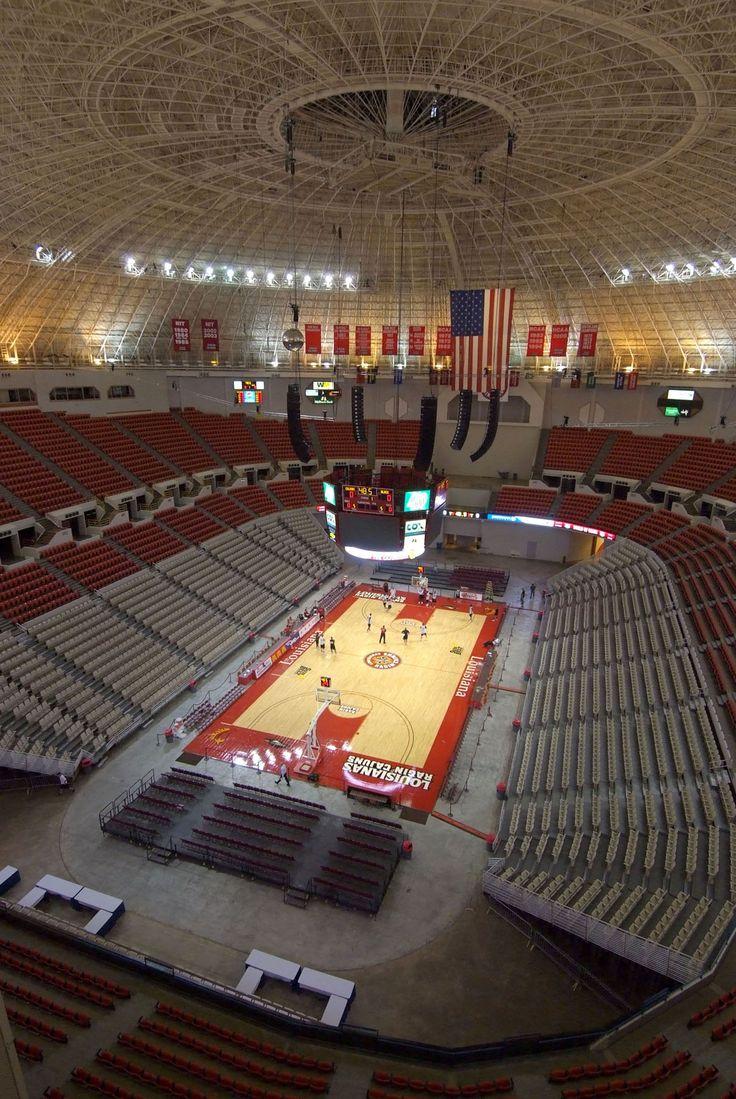CAJUNDOME Arena CAJUNDOME Convention Center Lafayette, LA ...