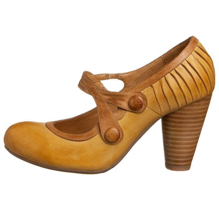 i LOVE retro shoes.  Secure, comfortable, manageable :)