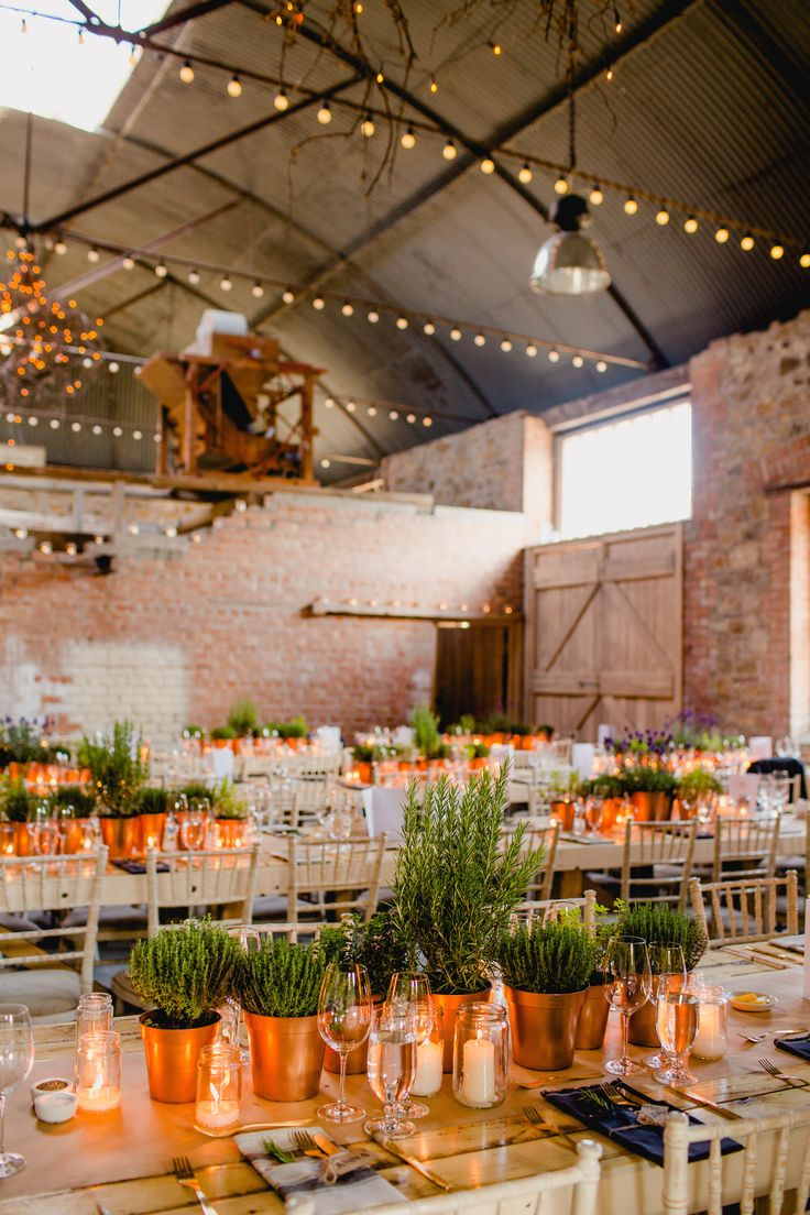 Our Editor Claireu0027s Laid Back Barn Wedding in