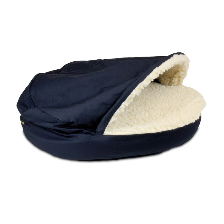 The Snoozer Cozy Cave nesting dog bed is one of a kind dog bed that is designed to give your pet a cozy place to stay warm. Often referred to as a Nesting dog bed, it is perfect for pets and dogs who enjoy staying under the covers, the Cozy Cave dog bed gives your pet a place to stay completely enclosed in a Sherpa interior fabric, keeping them warm through out the year.  Snoozer Cozy Cave Dog Bed Features:   Poly Cotton Exterior  Sherpa Interior  Machine-Washable cover  Cedar/Poly…