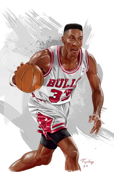 scottie_pippen_painted_portrait