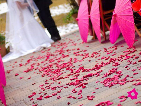 Decoración de boda oriental