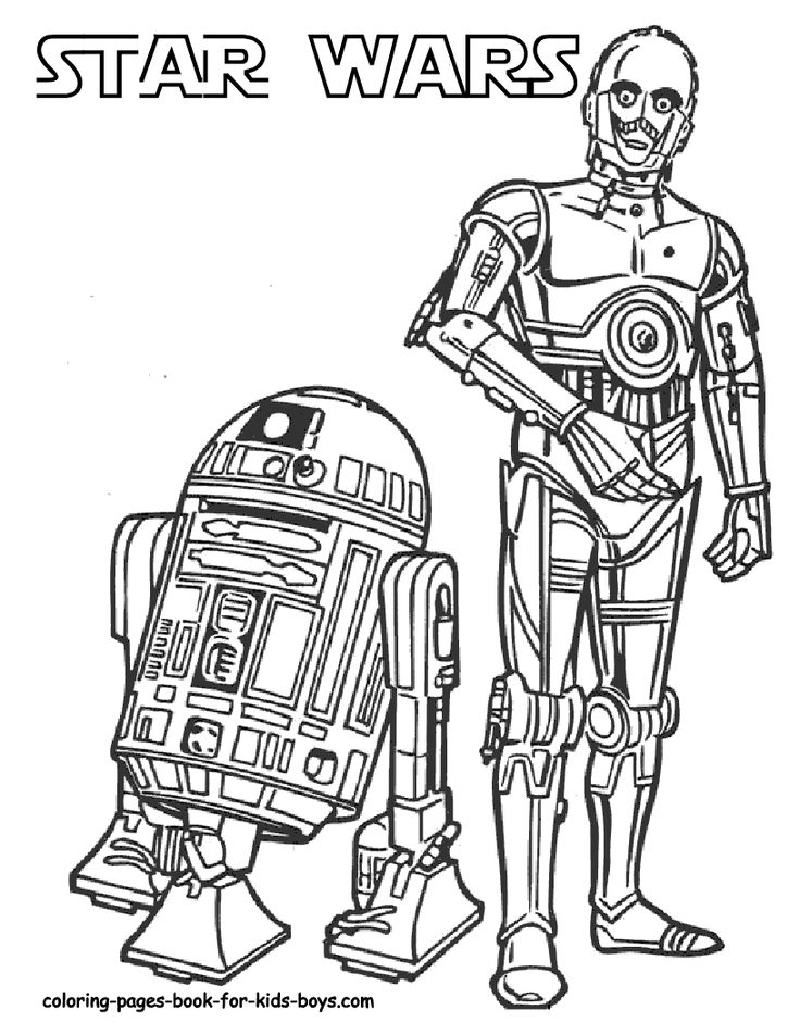 Star Wars Coloring Pages On Page 1 Starwars 6 Color In Paper