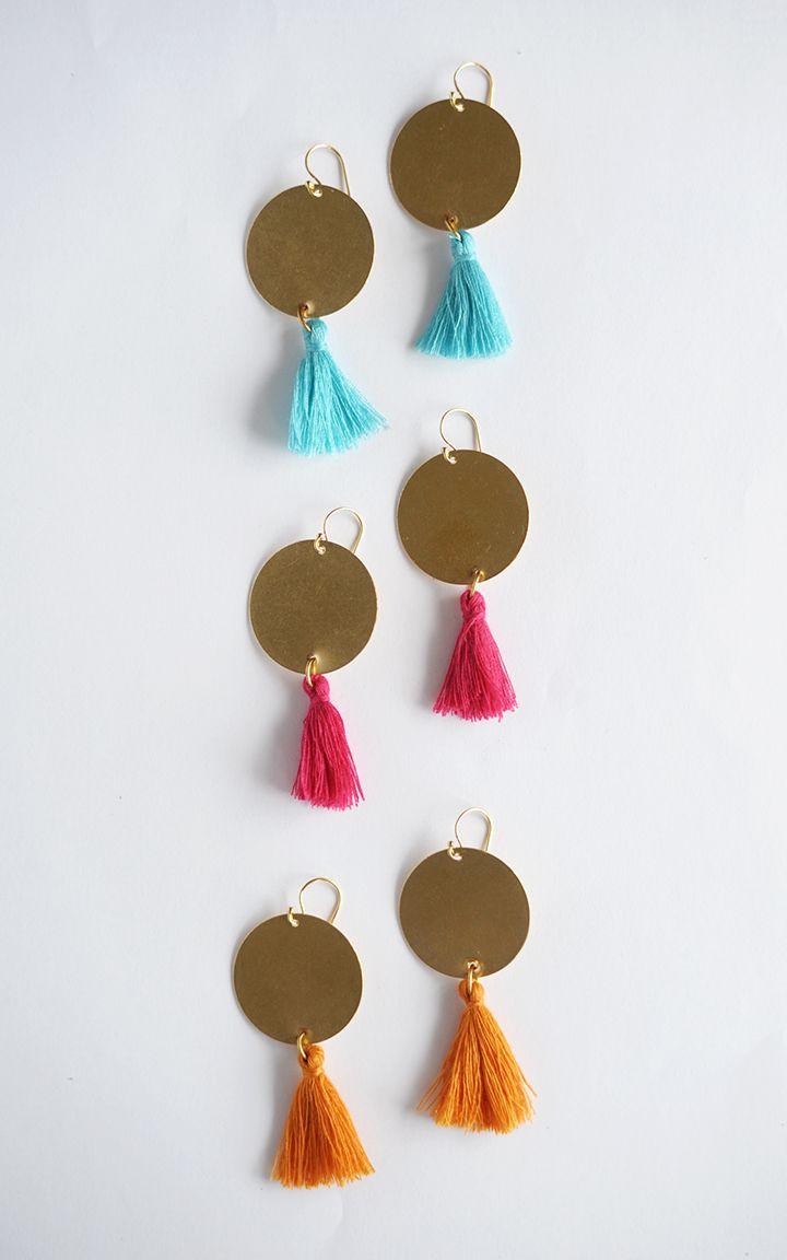 best 25+ diy statement earrings ideas on pinterest | diy tassel