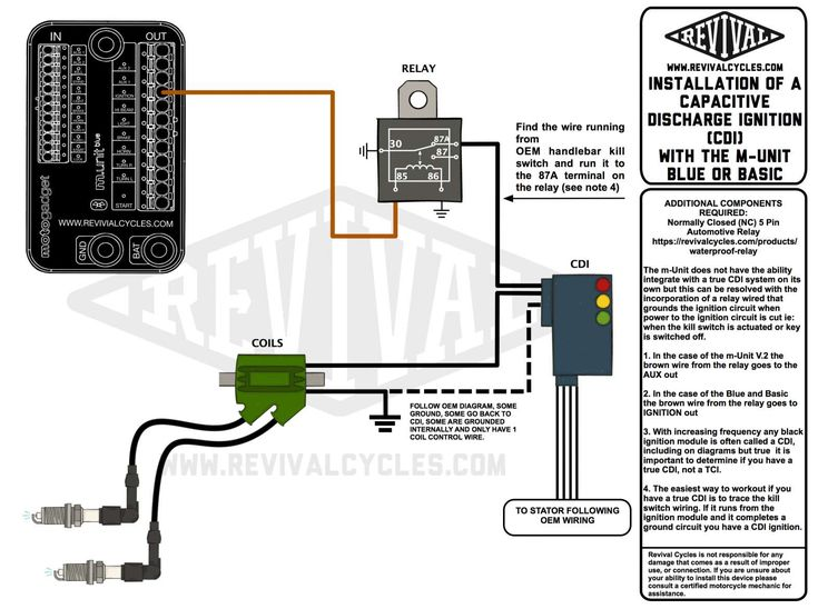 Cdi circuit diagram motorcycle and how to integrate a cdi