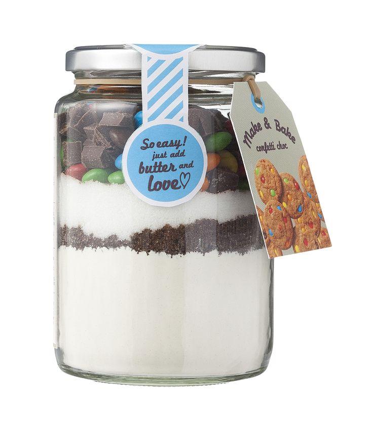 make & bake confetti koekjes - HEMA - 90 punten