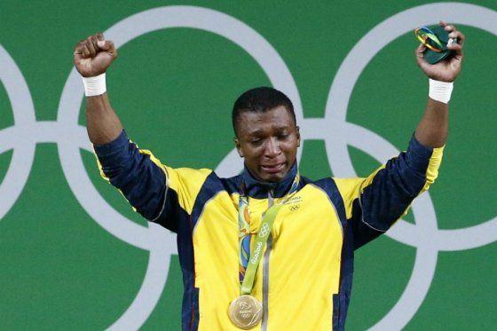 Óscar Figueroa gana medalla de oro para Colombia en #Río2016