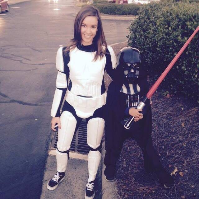 This force is totally with us! Mother & Son costumes!