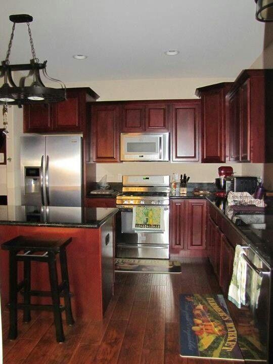Covina Cocina Pinterest Dark Kitchen Cabinets