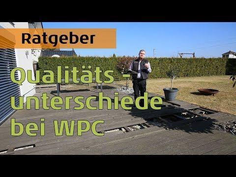 Qualitatsunterschiede Bei Wpc Terrassendielen 8 Jahre Alte Wpc