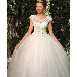 オフホワイト ロング ウェディングドレス プリンセスドレス 結婚式二次会パーティードレス 花嫁 HS22