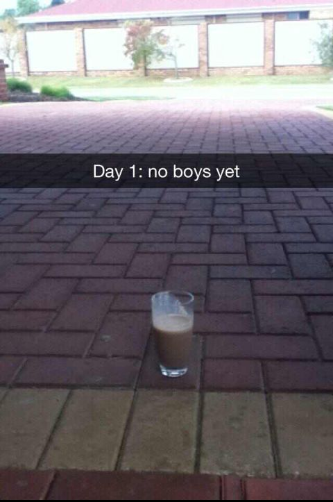 My milkshake is clearly in the yard...