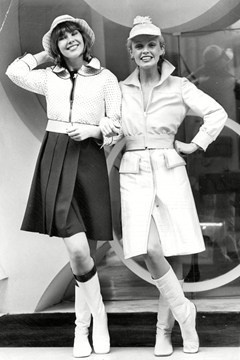 Courreges collaborates with La Redoute