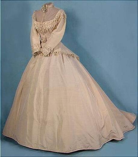 Свадебное платье начала 19 века