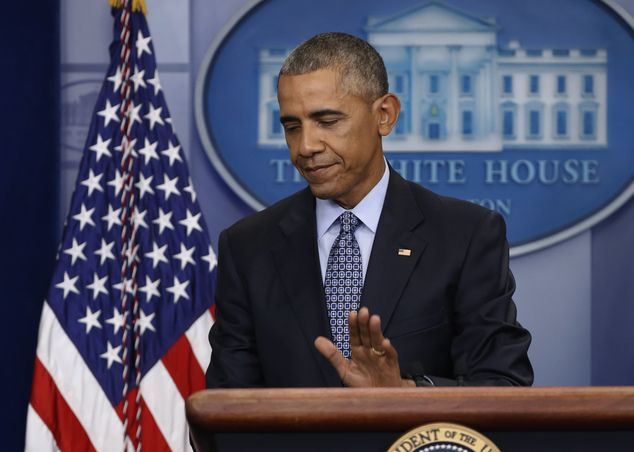 President Barack Obama's schedule has been mostly cleared for his final full day in the Wh...