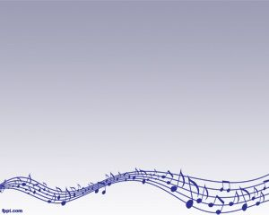 Music Lyrics PowerPoint Template