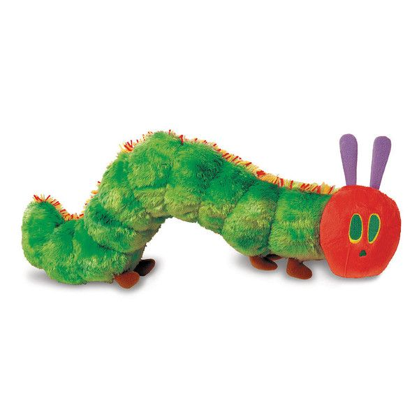 It's a great way to animate the story as you read, while the fluffy textures stimulate your baby's senses. This stunning yet voracious insect larva is 18 cm lon