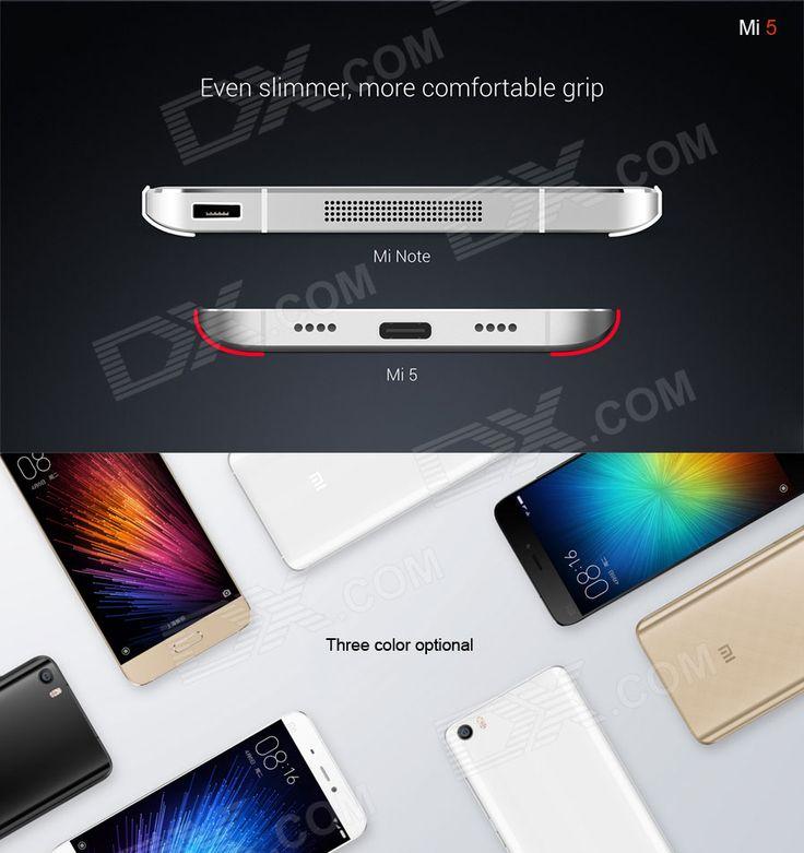 "Xiaomi 5 Standard Snapdragon 820 4G 5.15"" Phone w/ 3GB RAM, 32GB ROM - Free Shipping - DealExtreme"