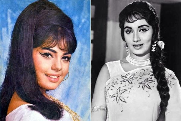 5 Indian Bollywood Actresses From The Swinging Sixties And Their Ravishing 60s Hairstyles New Bollywood Hairstyles Indian Bollywood Actress Bollywood Actress