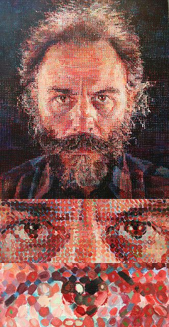 Project #2 Me, Myself and I Chuck Close Shows how artist can represent identity in different ways and mediums. He has a unique style in showing identity.