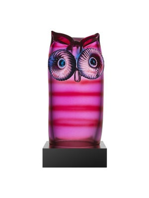 Kosta boda My Wide Life Owl by Ludvig Löfgren | The House of Beccaria#