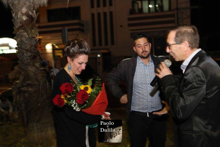 la serenata alla sposa a Lecce, bari, brindisi e Taranto gruppo Paolo e Dalila