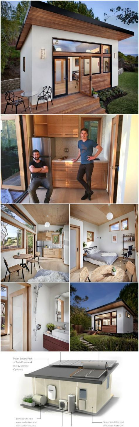 These innovative little houses bring sustainable design to the next level.   – Kochen