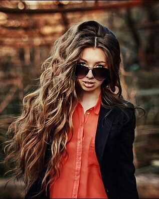 Gorgeous hair....