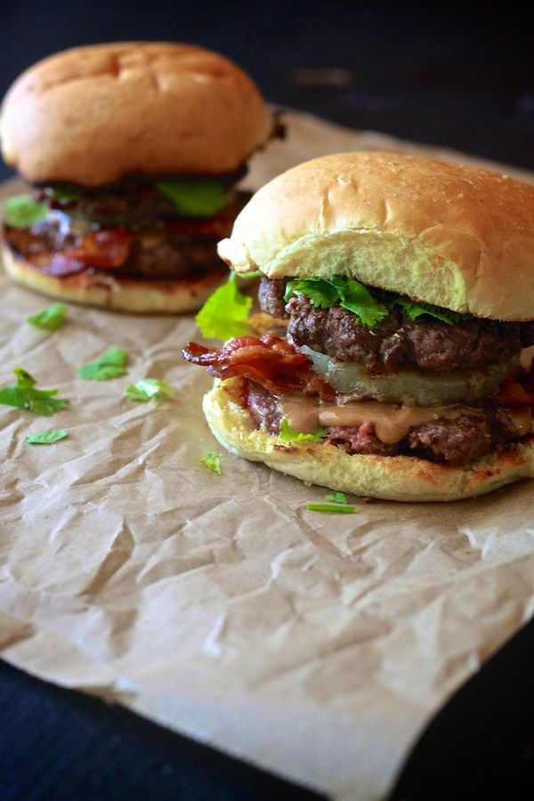Take your love for Pad Thai and put it on a burger. Yes, you heard right. Check out this Thai Peanut Butter and Bacon Burger recipe for your outdoor grilling parties this summer!