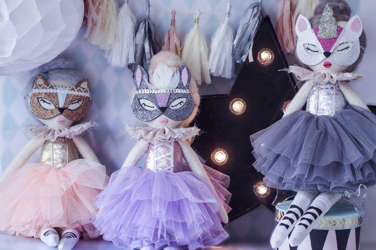 Handmade rag dolls