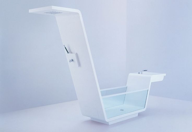 bathtub shower and sink clean design home and decor pinterest