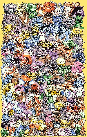 really free epic pokemon cross stitch pattern. 2 Versions (21 colors and 27 colors)