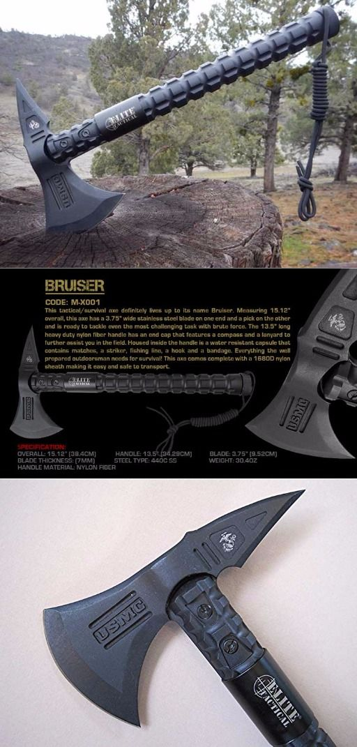 USMC Elite Tactical Bruiser Survival Tomahawk Axe @thistookmymoney